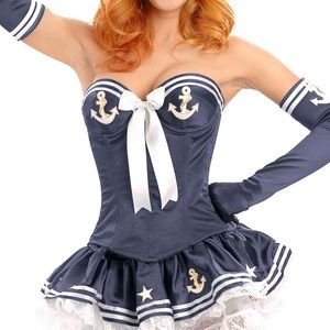 Sailor Halloween costume from Trashy Lingerie